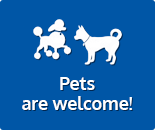 Pets are welcome!