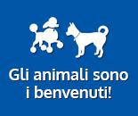 Gli animali sono i benvenuti!